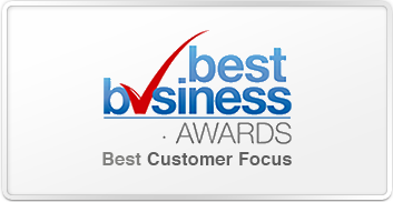 Best Business Awards Winner 2014 - Best Customer Focus